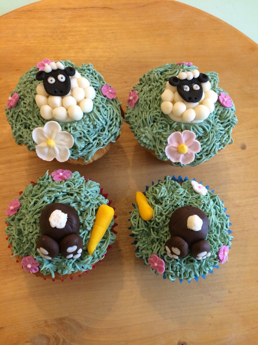 Easter spring cupcakes