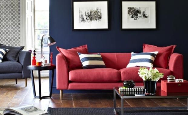 Lovehome Co Uk Living Room Colour Schemes And Design Ideas Red Living Room Decor Red Couch Living Room Red Sofa Living Room