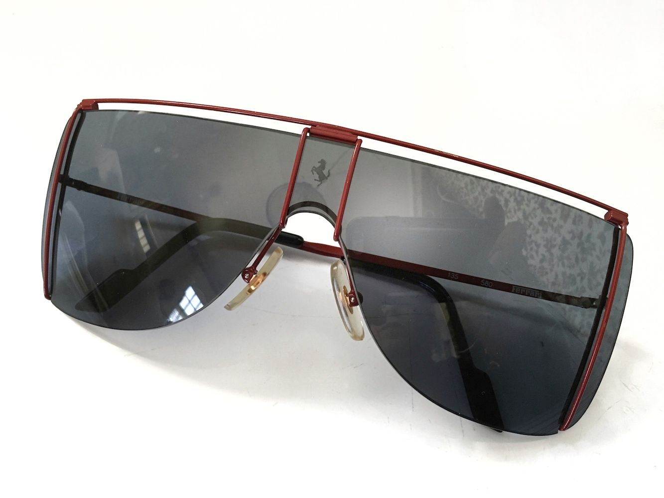 Ferrari F20 Shield Sunglasses Vintage 80\u0027s awesomeness
