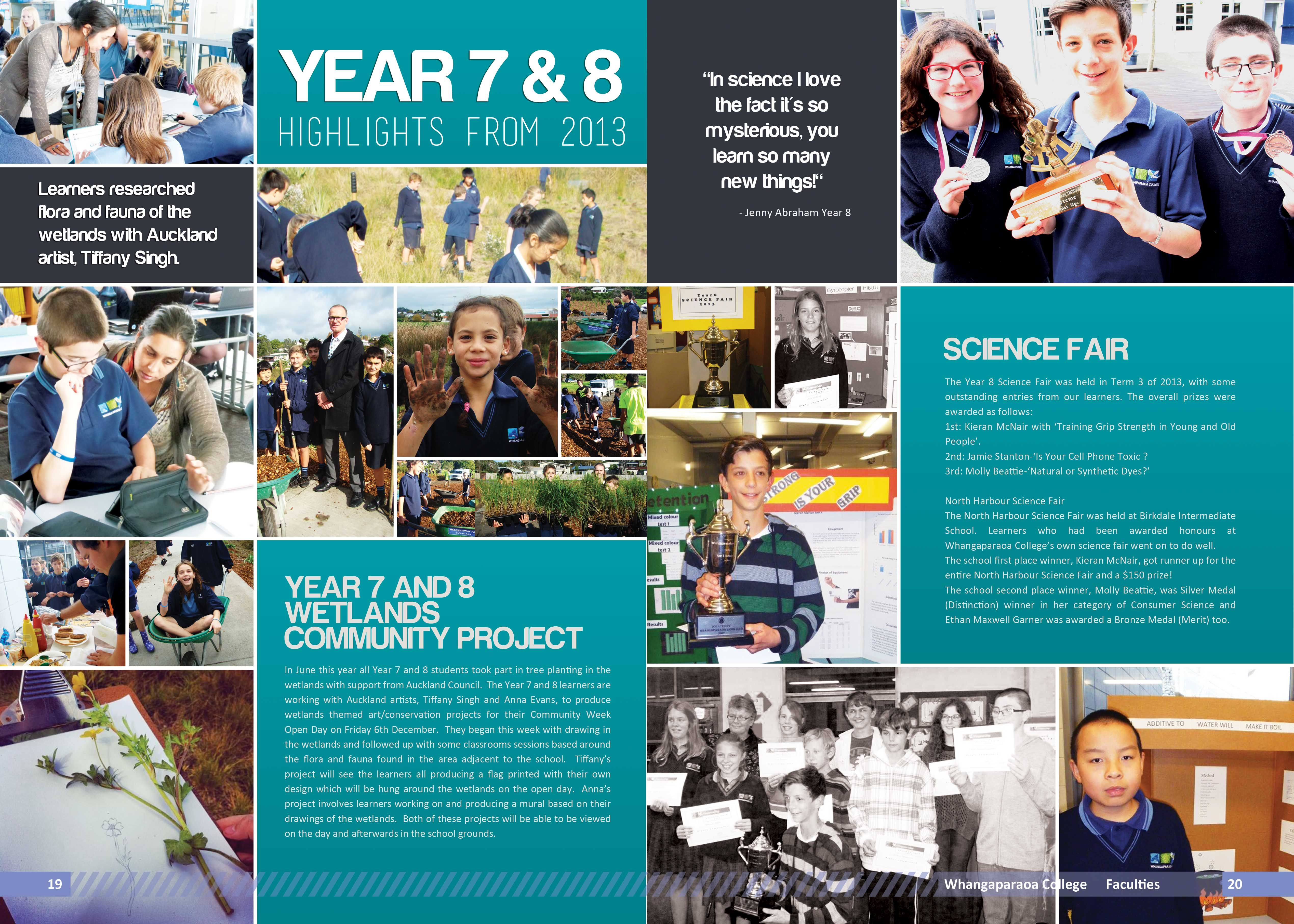 Classroom Yearbook Ideas ~ Yearbook page layout another that had a