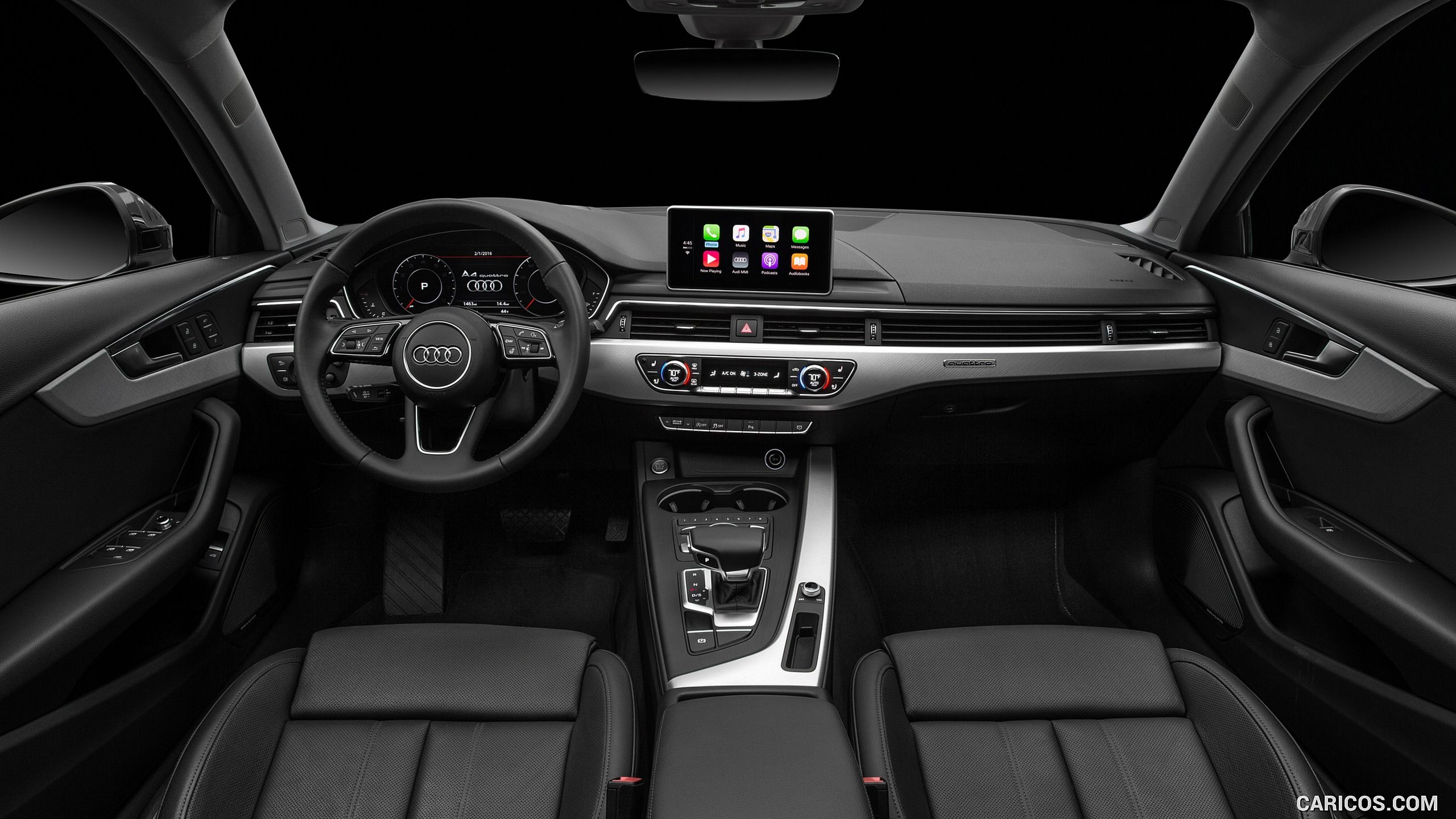 2017 Audi A4 2 0t Quattro Us Spec Interior Cockpit Hd In 2020 Audi Interior Audi A4 2017 Audi A4