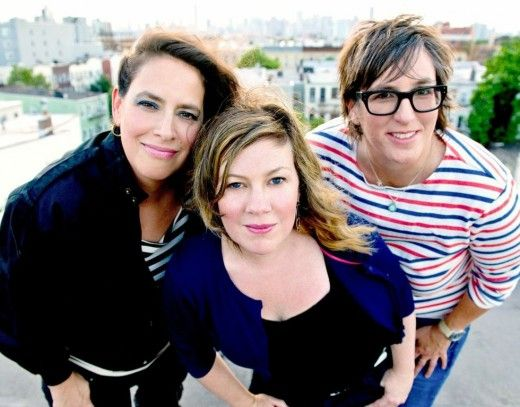 Luscious Jackson on The Late Show with David Letterman 11/18, 'So Rock On' streaming now http://buff.ly/H2iwmE