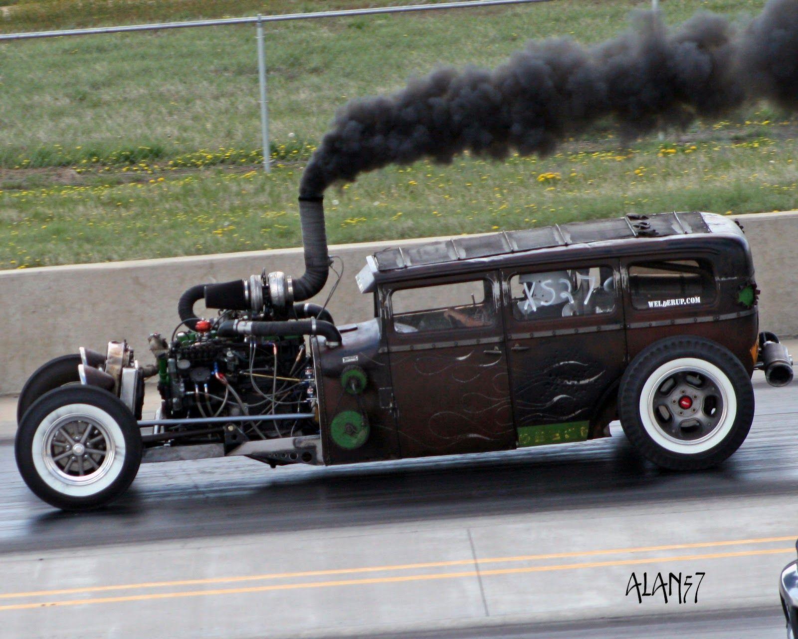 O Rat Rod diesel mais conhecido do mundo - http://ratrodbrasil ...