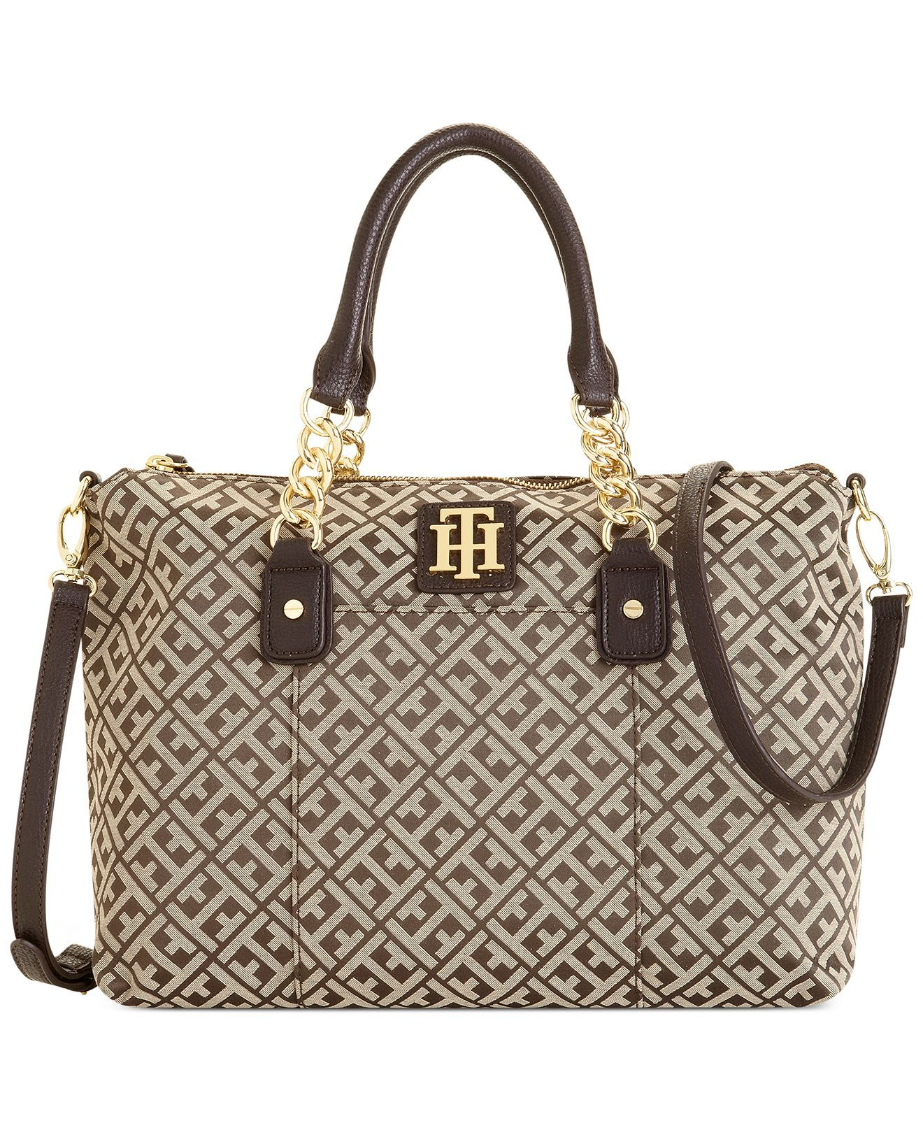 6155a4abd95 Tommy Hilfiger Bombay Convertible Shopper - All Handbags - Handbags    Accessories - Macy s