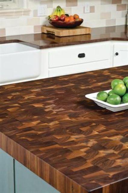 Green Countertop Options  Countertop Options Countertop And Beauteous Unique Kitchen Countertops Design Ideas