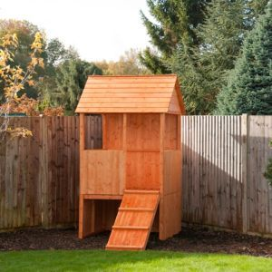 Shire Lookout 5X4 Playhouse - Assembly Required Lookout 5X4 Playhouse - Assembly Required.This Lookout 5x4 Playhouse is great for the younger child. with its ramp for clambering up and hiding place underneath the lookout is sure to provide hours of http://www.MightGet.com/april-2017-1/shire-lookout-5x4-playhouse--assembly-required.asp