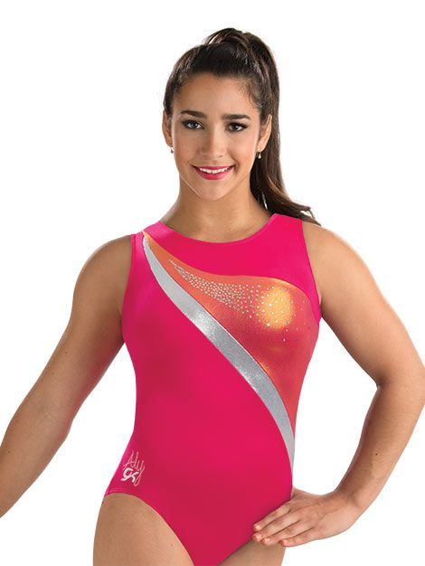 Aly Coral Reef Scoop Neck Leo from GK Elite  3ac9efe7d32