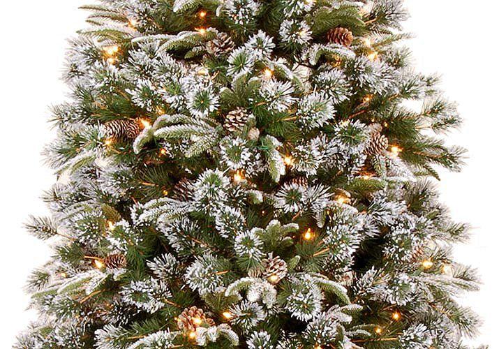 7ft Pre Lit Artificial Christmas Trees Part   16: Christmas Tree Artificial Pre  Lit