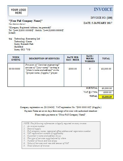 Business Invoice Template Free Download  Business Invoice