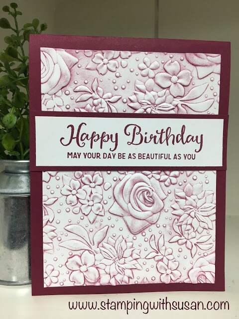 Stampin' Up! Brayered Country Floral
