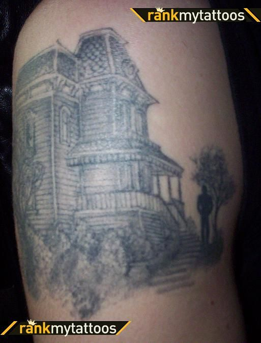 Psycho tattoo also. Thought this was pretty neat as well :)