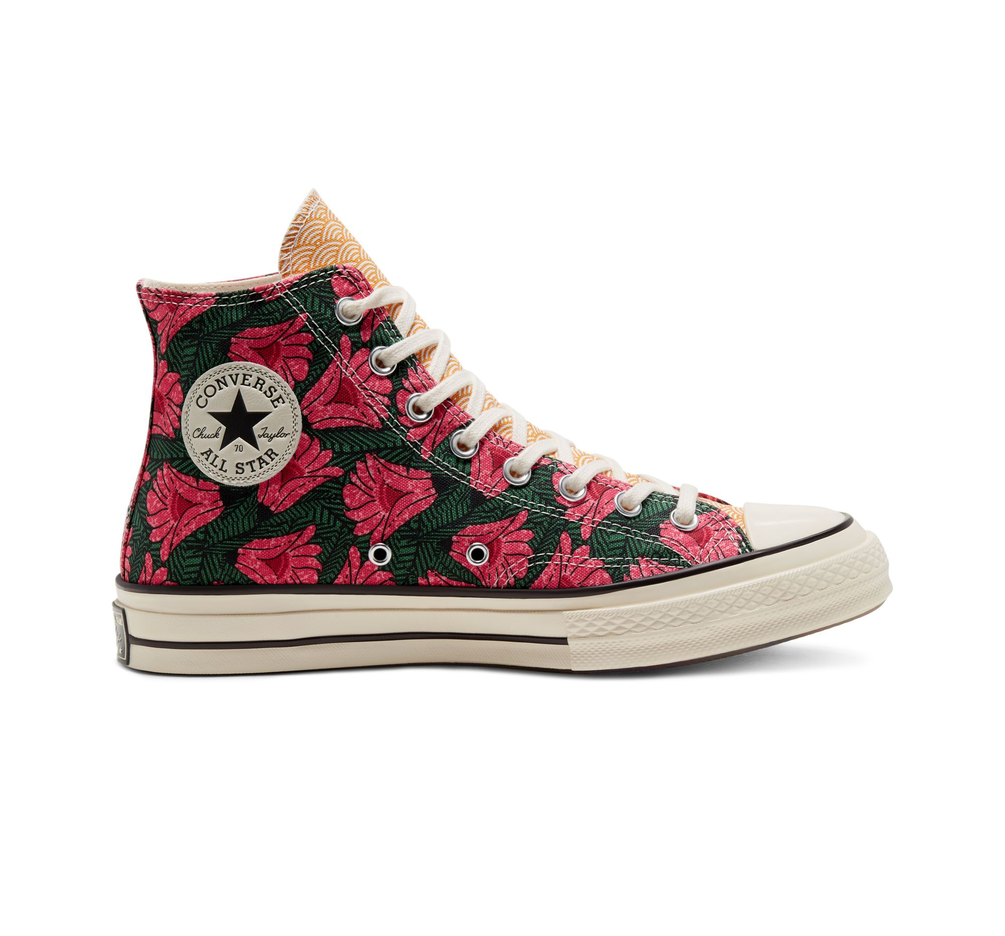 chuck 70 floral leather high top