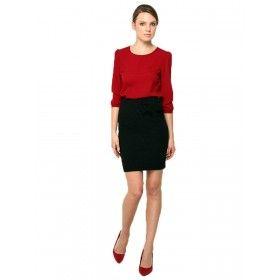 Fushion Skirt - Schwarz