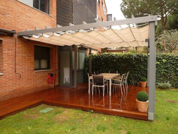 Pérgolas jardines terrazas con estilo muy modernas Pérgola de - terrazas en madera