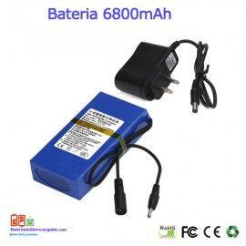 Bateria Recargable Litio 12v 68a Baterias Litio Recargables A