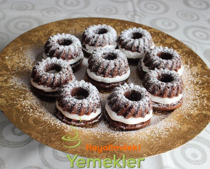 Kremalı Kakaolu Muffin Tarifi | tatlılar | Pinterest ...
