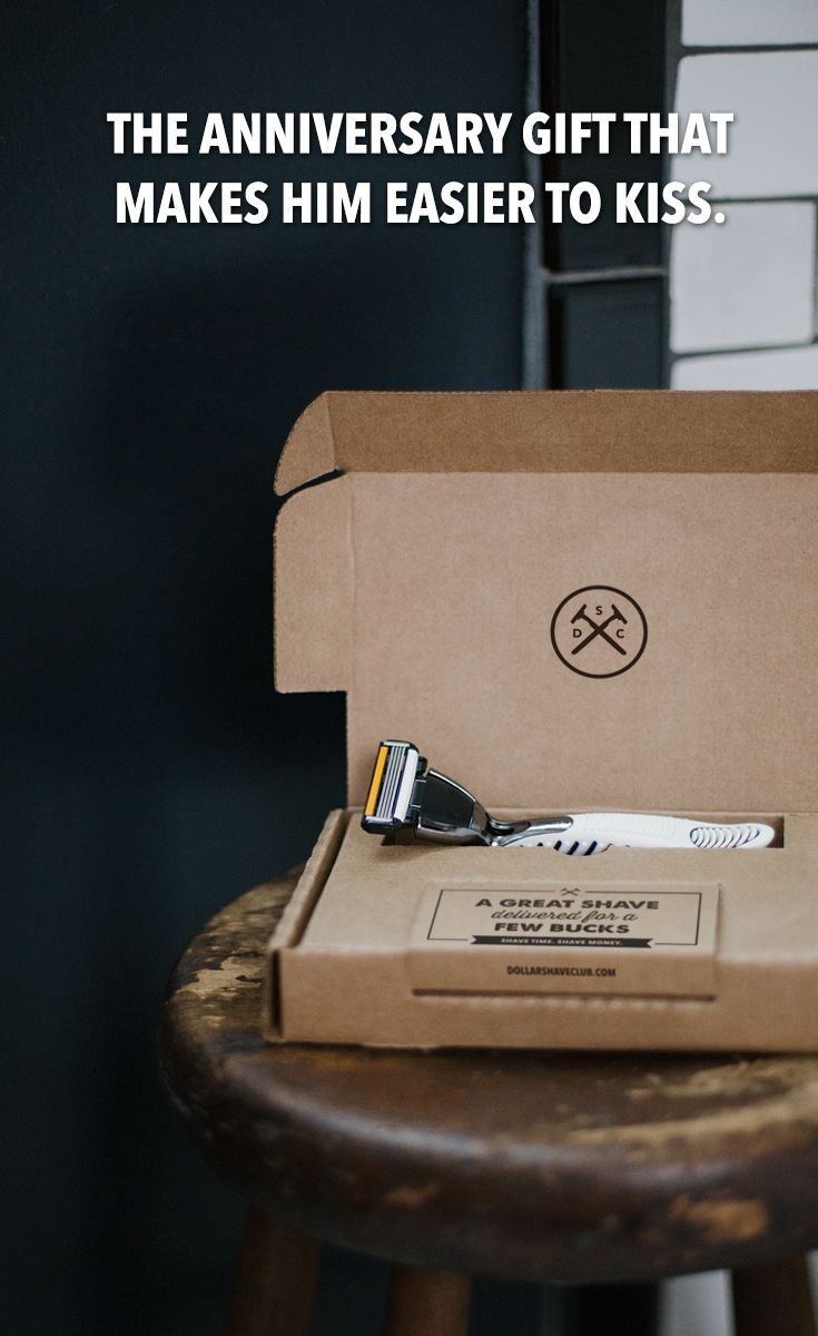 The Perfect Last Minute Anniversary Gift A Gift Card To Dollar Shave Club Hell Get Amazing Razors And Grooming Products Delivered Every Month