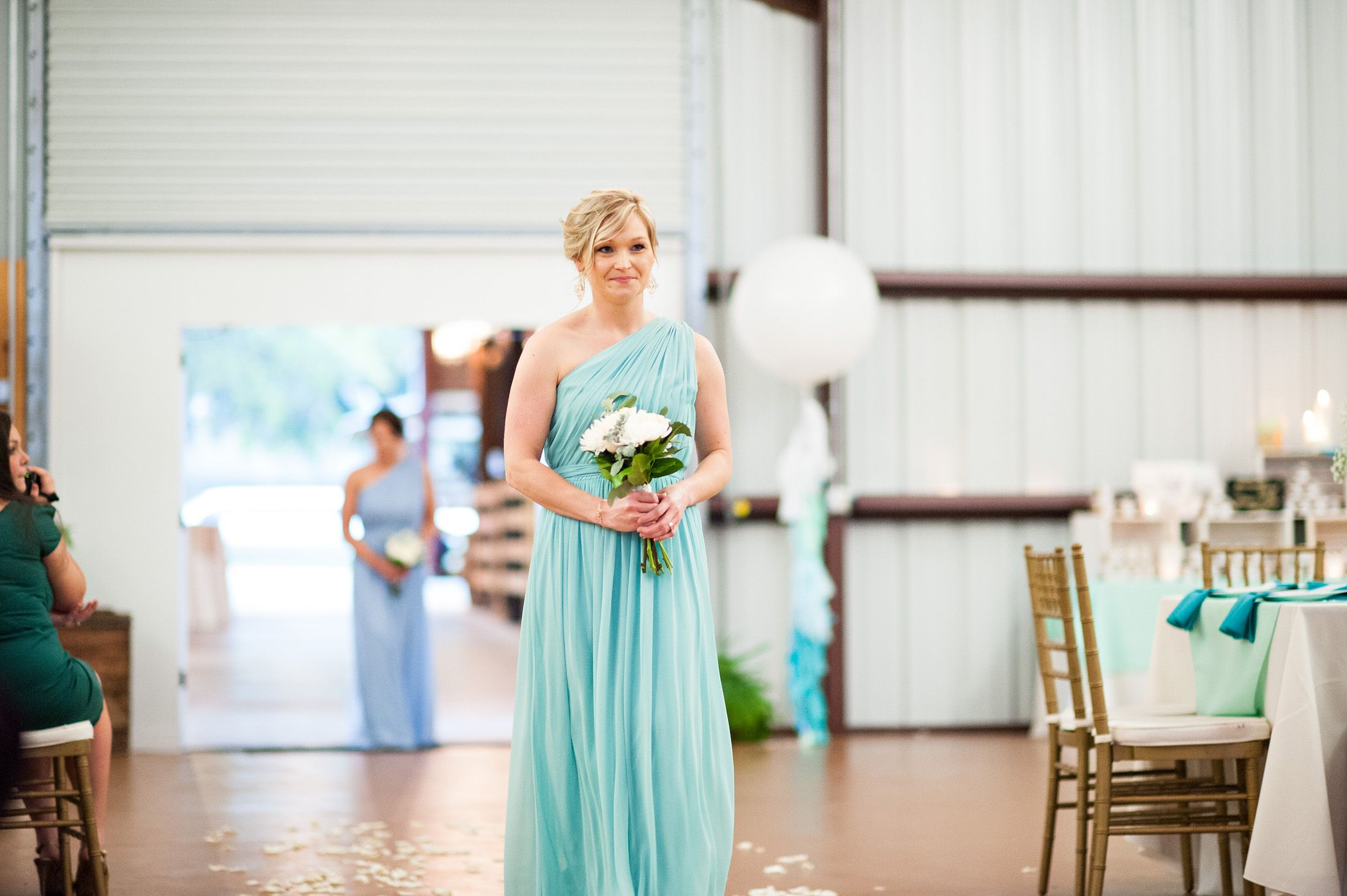 Aqua mint ombre wedding this is love pinterest wedding