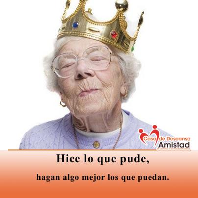 Esas queridas #abuelitas que tienen sangre de #reinas
