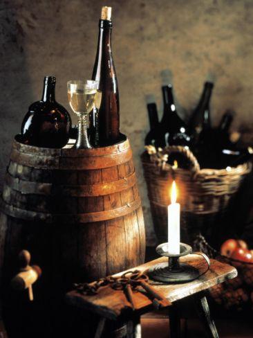 *Rustic Wine Setting