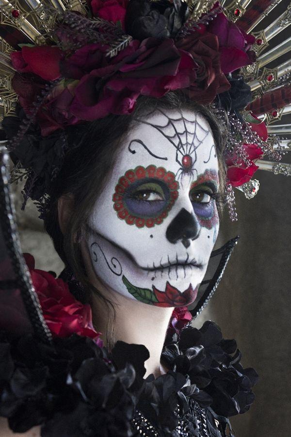 Stunningly Spooky Halloween Makeup Corpse bride, Tim burton and - scary halloween ideas