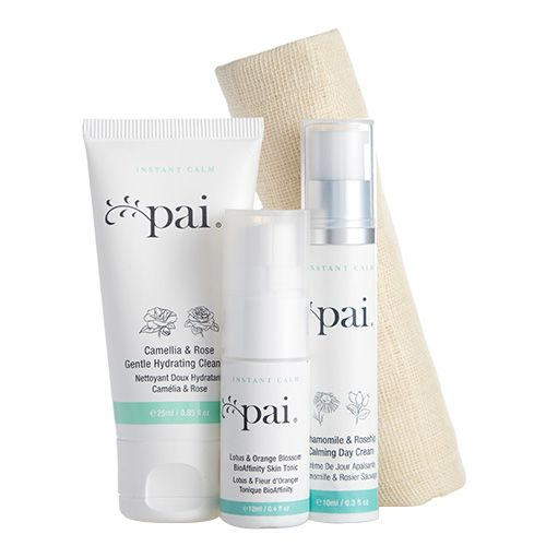 | TRAVEL SET | 160 HRK | Pai Skincare  Anywhere Essentials Instant Calm Travel Collection