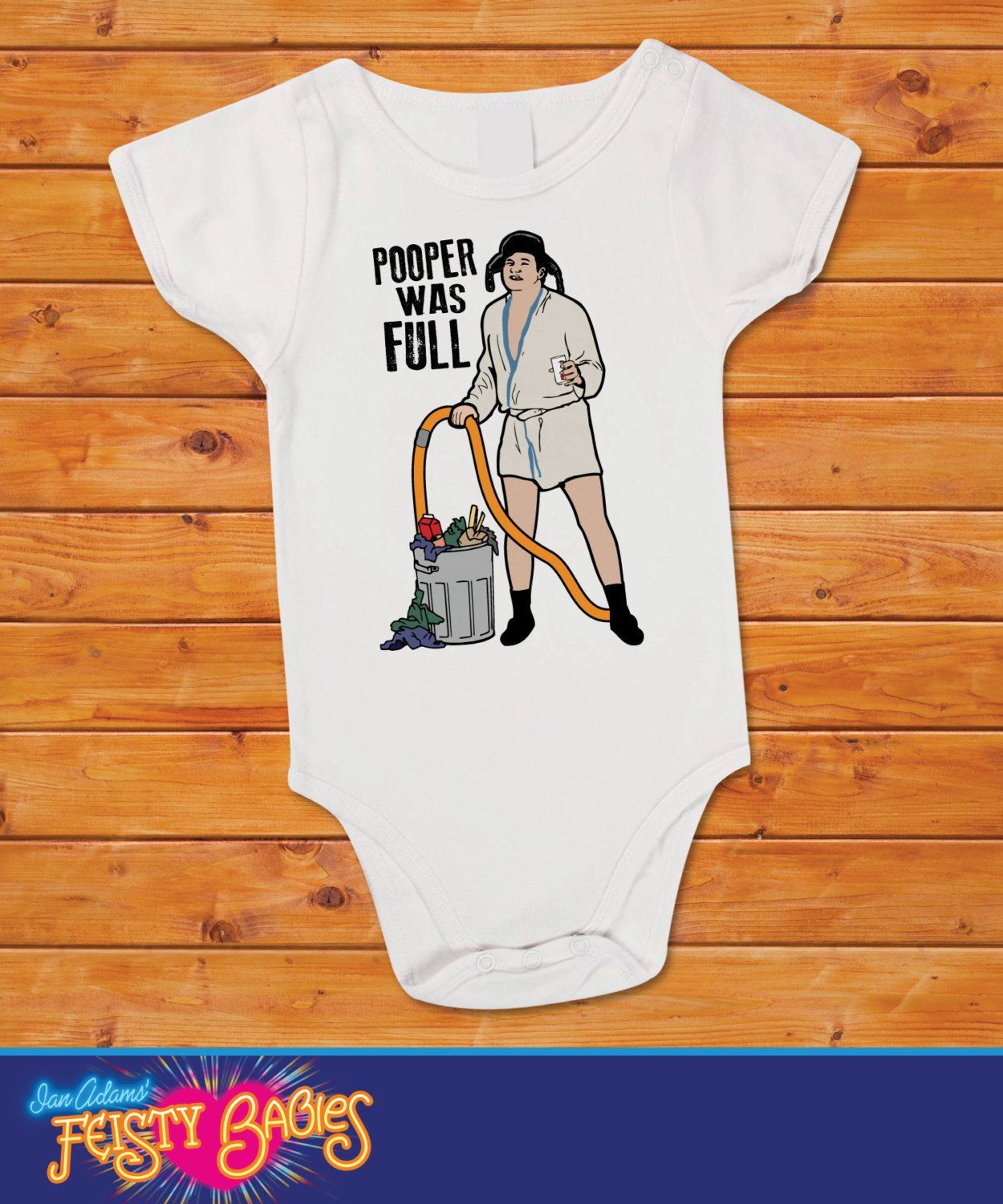 Pooper Was Full Onesie National Lampoon S Christmas Vacation By