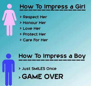 Difference between dating a boy and a girl