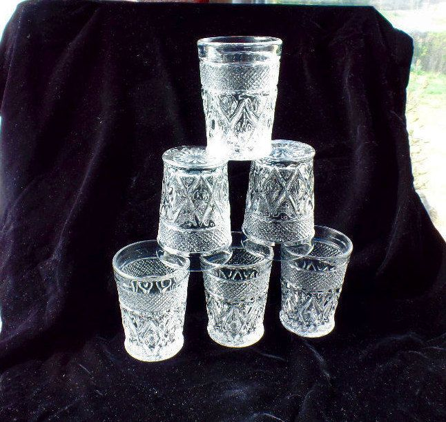Cape Cod Glass Company Part - 45: Set Of Six (6) Imperial Glass Company Cape Cod Clear 8 Oz Highball Tumbler