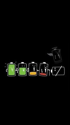 Battery Life Cycle Funny Iphone Wallpapers Funny Phone Wallpaper