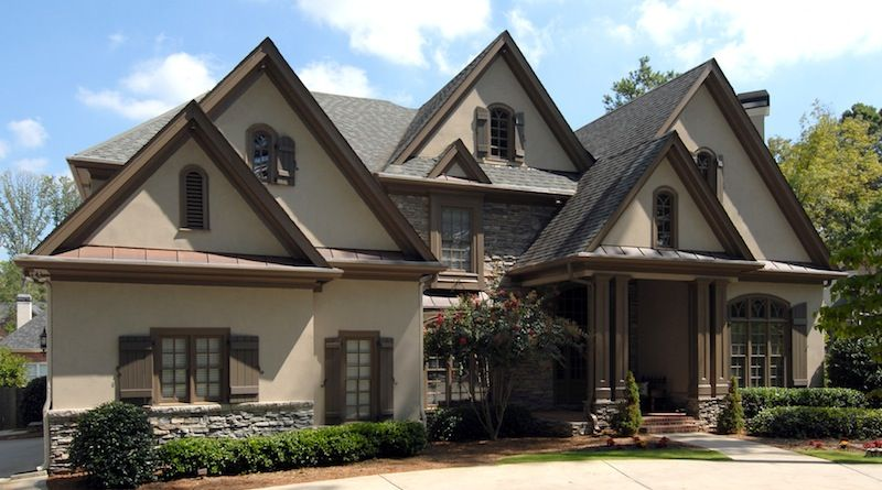 French country rustic home plans for French country house plans with porte cochere