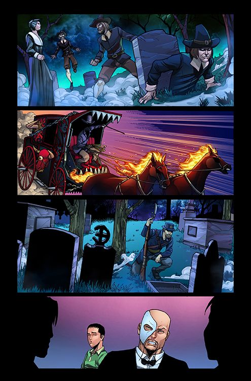 Some more of my colors in the GFT Halloween Special 2014, Zenescope  Written by Dan Wickline,  Artwork by: Butch Mapa  Color: Hedwin Zaldivar Artwork lettered: Jim Campbell  Editor: Nicole Glade Algo mas de mis colores en el especial de Halloween 2014 GFT, de Zenescope Escrito por: Dan Wickline, Artwork por: Butch Mapa Color: Hedwin Zaldivar lettered : Jim Campbell Editor: Nicole Glade #comics #zenescope #comiccomics #zenescopecomics #grimmsfairytales #halloween #halloweencomic #halloween2014