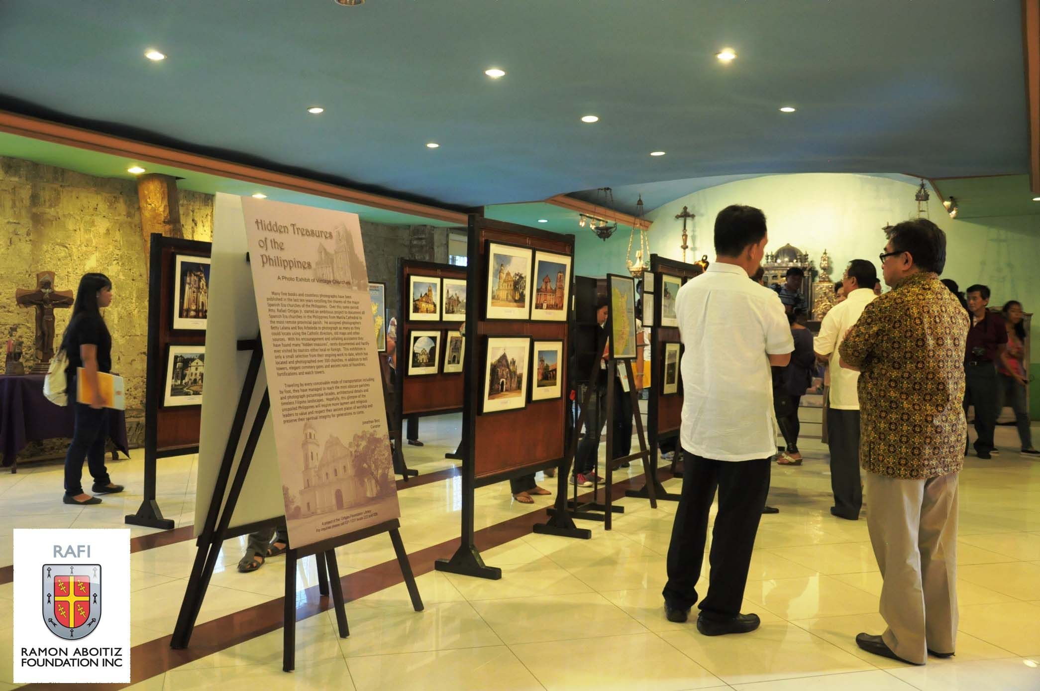"Sixty Spanish colonial churches in the Philippines are featured in the traveling exhibit,  ""Hidden Treasures: An Exhibit of the Spanish-era churches in the Philippines"" which runs from April 18-30 at the Cebu Metropolitan Museum and will be traveling to different areas in Cebu and Bohol."