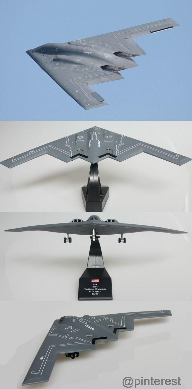 1:200 Scale Military Model Northrop Grumman B-2 Stealth and ...
