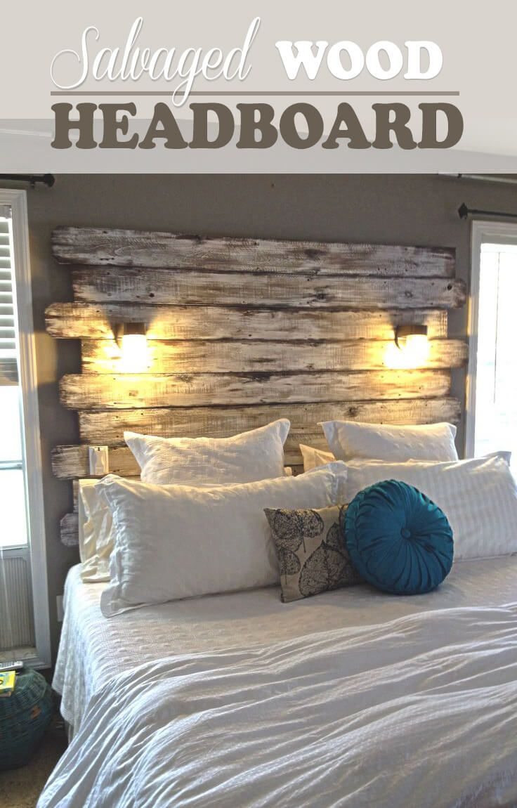 47 of the Best Ways to Use DIY Headboards to Create the Room of Your ...
