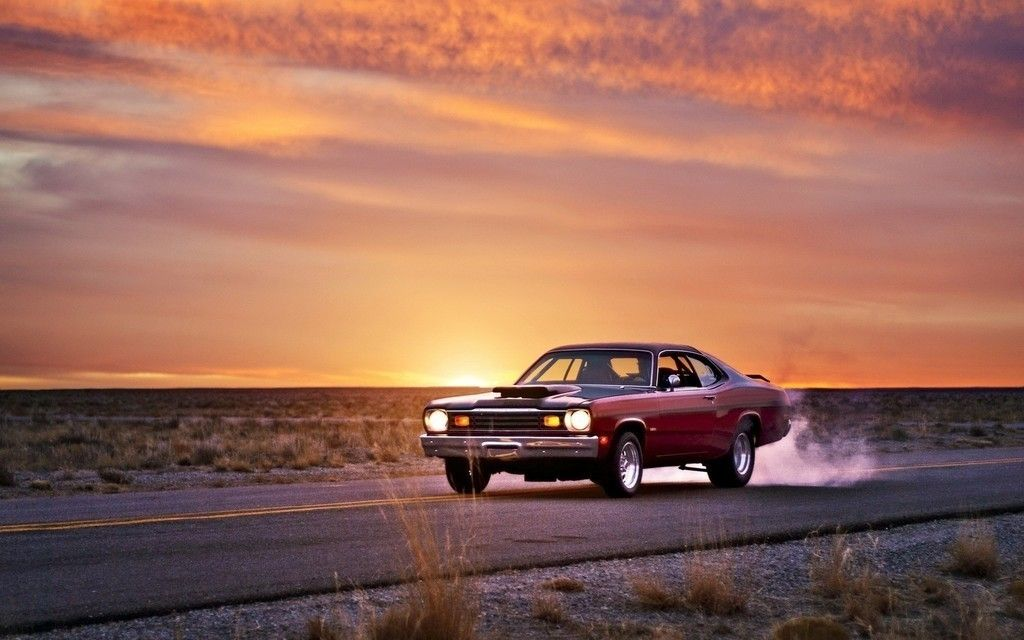 Sunset plymouth classic car wallpaper cars wallpapers sunset plymouth classic car wallpaper altavistaventures Gallery
