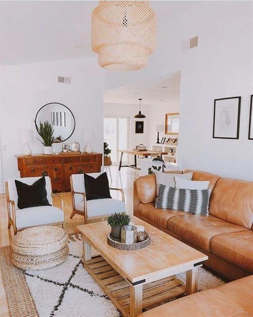 Boho Chic Home Decor Style Bright Living Room Living Room