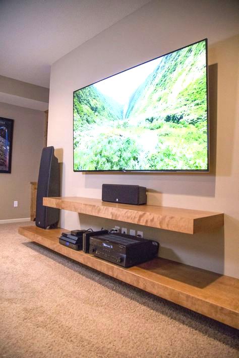 47 Best Ideas Living Room Shelves Under Tv Tv Shelf Idée Meuble Tv Décoration Maison Mobilier De Salon