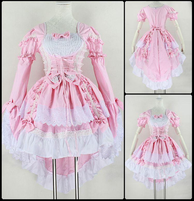 Aliexpress.com: Comprar Vestido Vintage Ball, gótica de la criada de ...