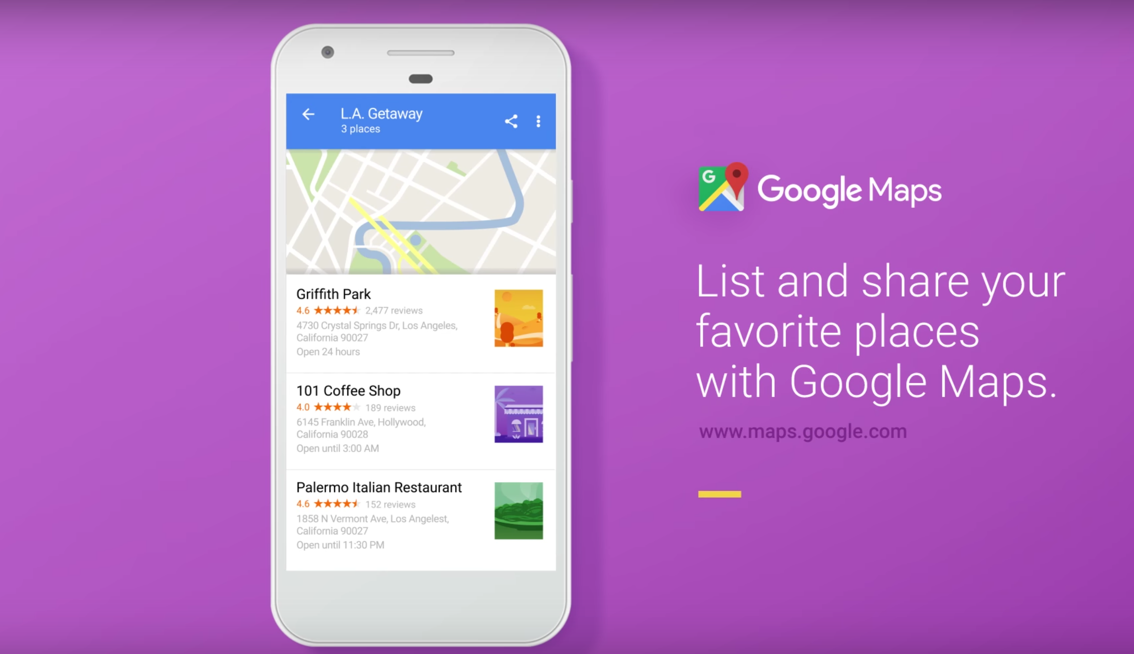 Google Maps Update Create And Share Lists Of Favorite Places Favorite Things List Google Maps Favorite Places