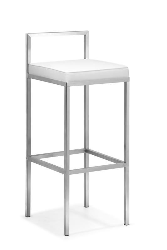 Industry Barstool White 267 00 Modern Bar Stools Kitchen Modern Bar Stools Bar Stools