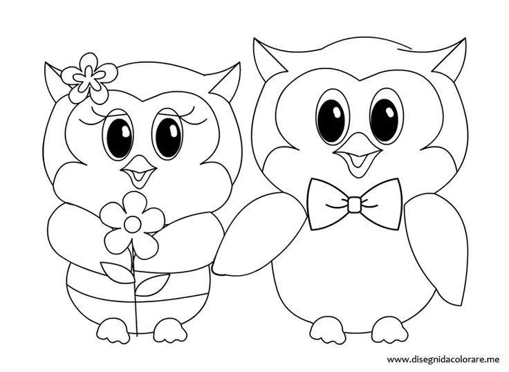 Eulen Färbung Seite 7027 | Owls | Pinterest | Owl and Template