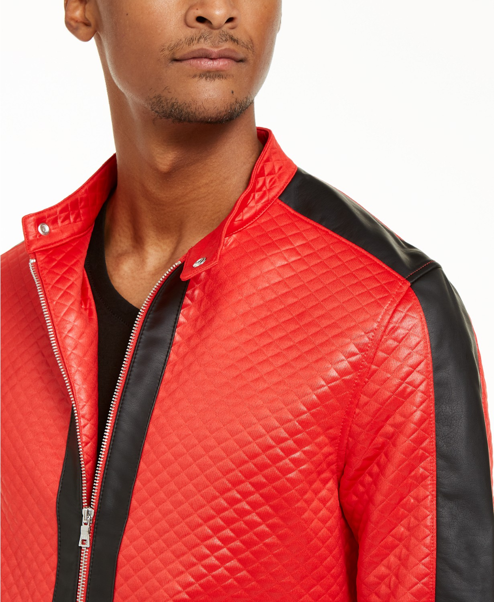 Inc International Concepts Inc Men S Diamond Quilted Faux Leather Jacket Created For Macy S Reviews Coats Jackets Faux Leather Jackets Men Mens Jackets [ 1219 x 1000 Pixel ]