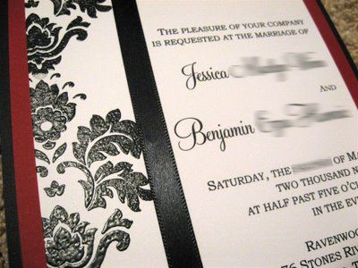 awesome embossing tutorial | Embossed invitations, Wedding ...