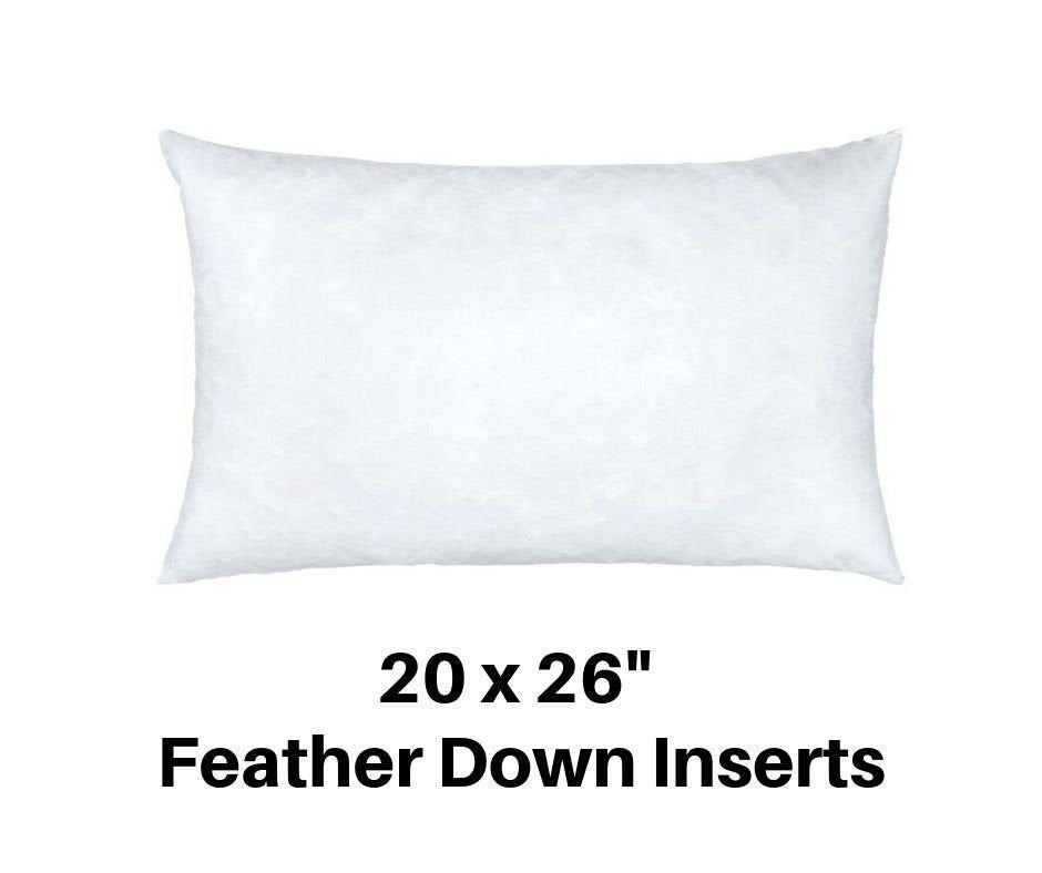 20x26 Pillow Standard Pillow 20x26 Pillow Form 20x26 Inch