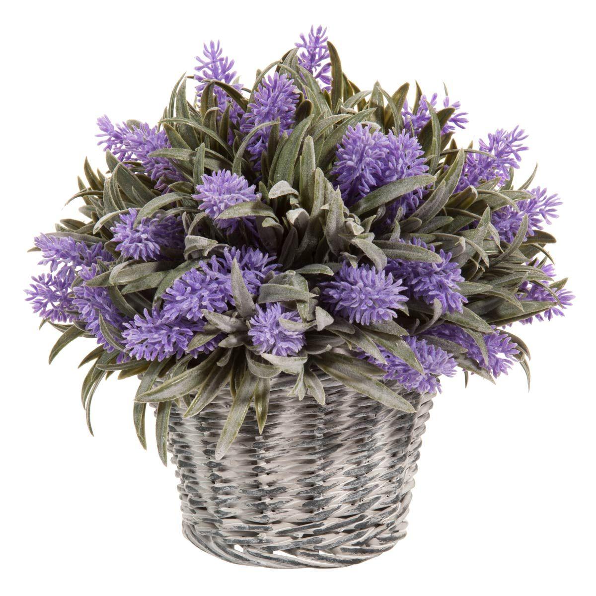 Artificial lavender basket   Maisons du Monde
