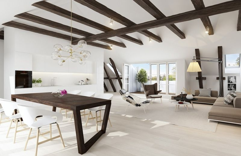 35 Modern Living Rooms With Cool And Clean Lines Living Room