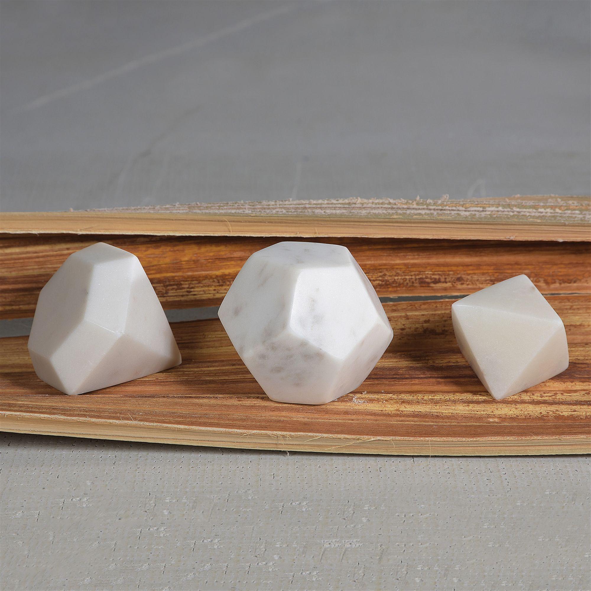 White Marble Diamond By HomArt