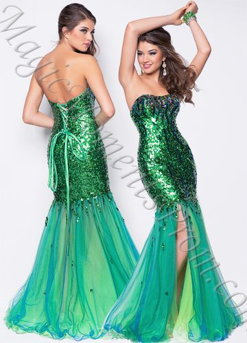 Mermaid Color Dress