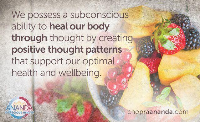 Healing begins within.